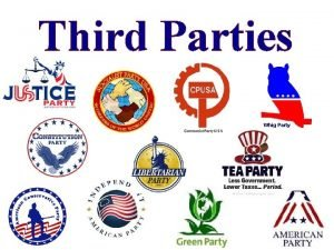 Third Parties Whig Party The Constitution Party vadvocates