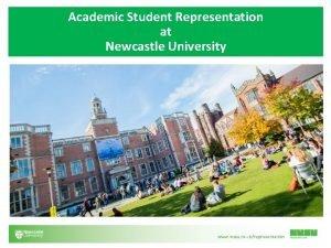 Academic Student Representation at Newcastle University Student Reps