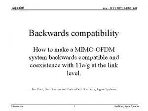 Sept 2003 doc IEEE 802 11 03714 r