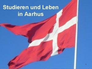 Studieren und Leben in Aarhus 1 Aarhus Zweitgrte
