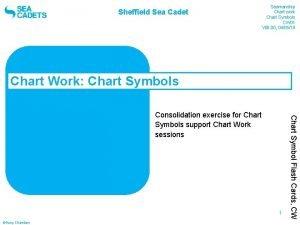 Sheffield Sea Cadet Seamanship Chart work Chart Symbols