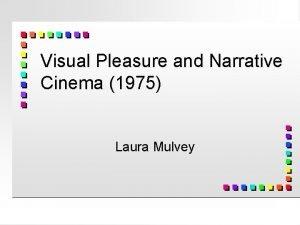 Visual Pleasure and Narrative Cinema 1975 Laura Mulvey