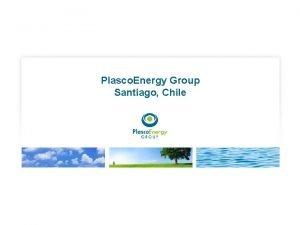 Plasco Energy Group Santiago Chile Waste in Santiago