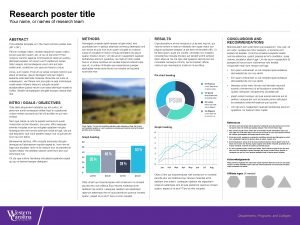 Research poster title Your name or names of