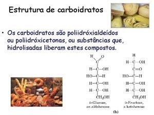 Estrutura de carboidratos Os carboidratos so poliidrxialdedos ou
