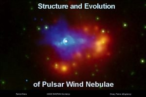 Structure and Evolution of Pulsar Wind Nebulae Patrick