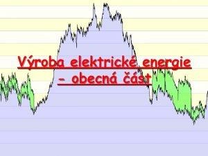 Vroba elektrick energie obecn st Zdroje energie Rozdlen