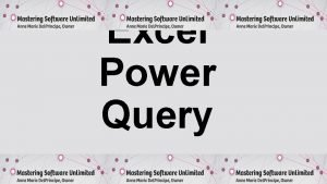 Excel Power Query Power Query for Parsing Data