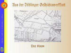 DIE KRIM Wolfgang Schulz Tel 0650357 39 44