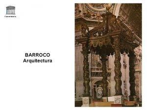 Claseshistoria BARROCO Arquitectura Claseshistoria Espacio teatral Planos cambiantes