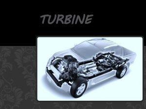 TURBINE Turbine se koriste u energetici avio i