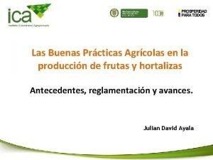 ca Min Agricultura Ministerio de Agricultura y Desarrollo