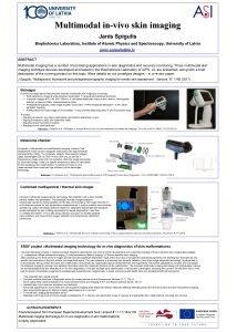Multimodal invivo skin imaging Janis Spigulis Biophotonics Laboratory