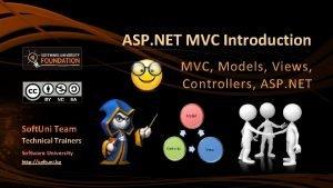 ASP NET MVC Introduction MVC Models Views Controllers