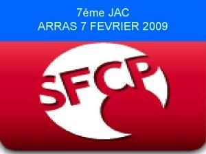7me JAC ARRAS 7 FEVRIER 2009 Affaire Epinal