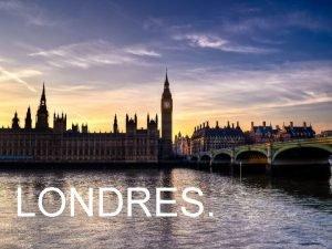 LONDRES Explosi Urbana A partir de la industrialitzaci