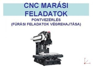 CNC MARSI FELADATOK PONTVEZRLS FRSI FELADATOK VGREHAJTSA Furatok