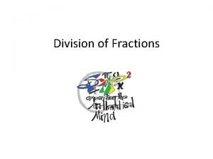 Division of Fractions Fractions Domain 3 5 Solve