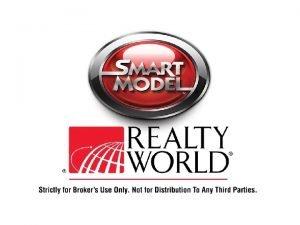 Realty World Smart Model FLAT FEE Commission Plan