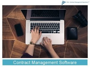 Contract Management Software Contract lifecycle management CLM Software