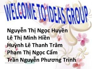 Nguyn Th Ngc Huyn L Th Minh Hin