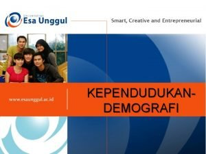 KEPENDUDUKANDEMOGRAFI What is the Demografic Dari bahasa Yunani
