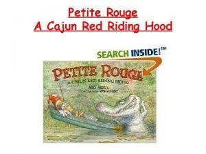 Petite Rouge A Cajun Red Riding Hood Coordinate