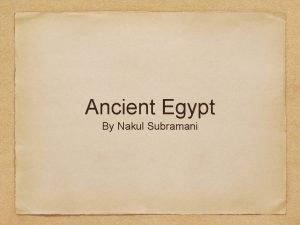 Ancient Egypt By Nakul Subramani Egyptian Drawings Egyptian