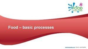 Food basic processes www foodafactoflife org uk Food