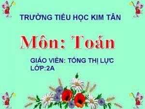 TRNG TIU HC KIM T N GIO VIN