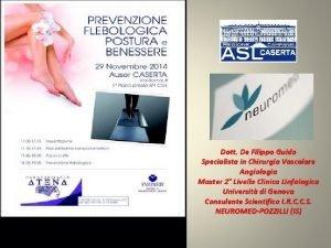 Dott De Filippo Guido Specialista in Chirurgia Vascolare