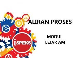 ALIRAN PROSES MODUL LEJAR AM MODUL LEJAR AM