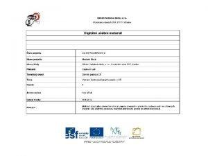 1 voucher vrov list popis trasy rezervace ubytovn