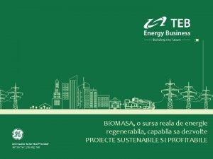 BIOMASA o sursa reala de energie regenerabila capabila