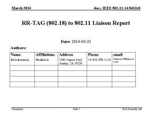 March 2014 doc IEEE 802 11 140432 r