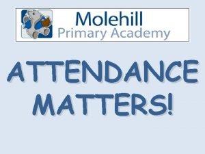 ATTENDANCE MATTERS FANTASTIC 100 ATTENDANCE ABOVE 95 Allan