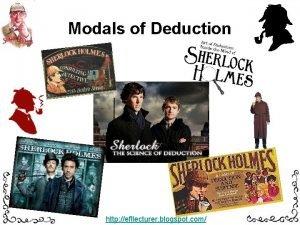 Modals of Deduction http efllecturer blogspot com Modals