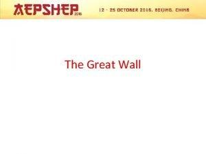 The Great Wall Mutianyu Great Wall Brief Itinerary