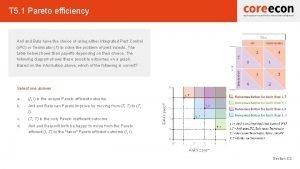 T 5 1 Pareto efficiency Anil and Bala