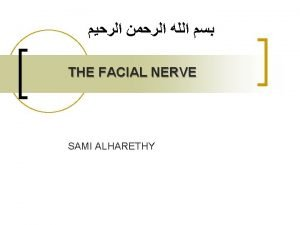 Complications of Facial Paralysis n Facial paralysis severely