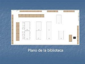 Plano de la biblioteca Vista 3 d Biblioteca