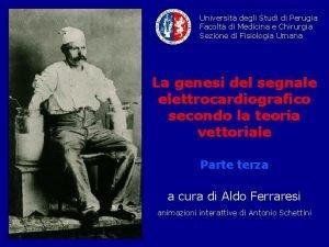 Universit degli Studi di Perugia Facolt di Medicina