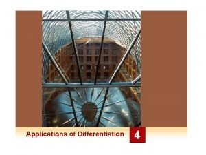 Applications of Differentiation 4 4 5 Indeterminate Forms