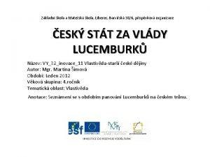 Zkladn kola a Matesk kola Liberec Barvsk 386