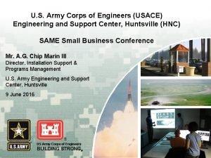 U S Army Corps of Engineers USACE Engineering