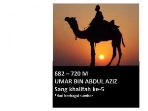 682 720 M UMAR BIN ABDUL AZIZ Sang