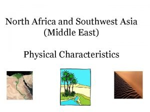 North Africa and Southwest Asia Middle East Physical