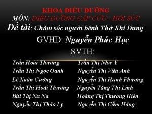 KHOA IU DNG MN IU DNG CP CU