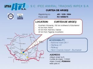S C IPEE AMIRAL TRADING IMPEX S A