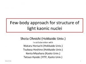 Fewbody approach for structure of light kaonic nuclei